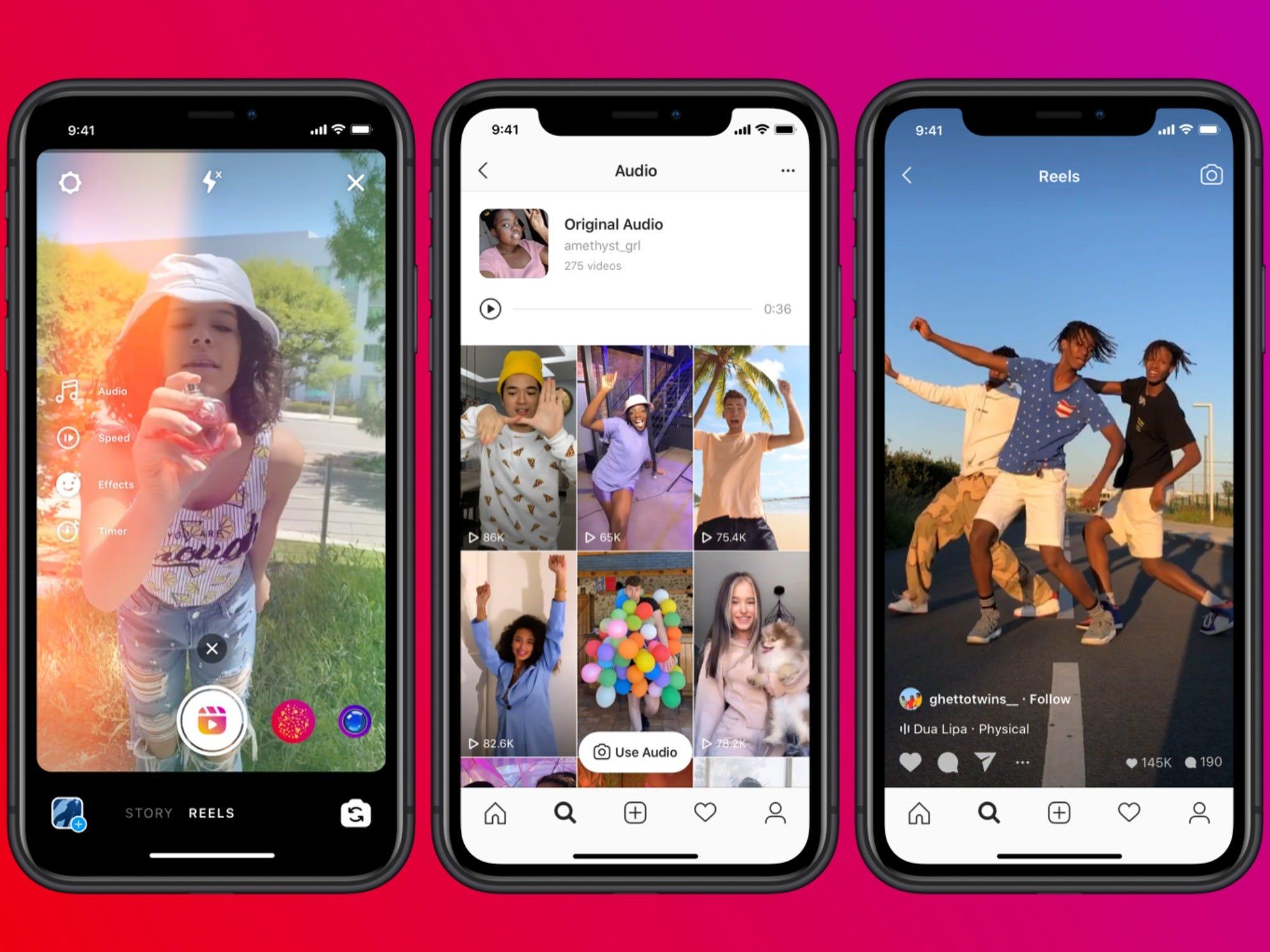 Novidades: Instagram Reels aumenta duração dos vídeos